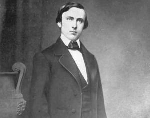 """A photograph of James Buchanan """"Buck"""" Henry, 1857-1859."""