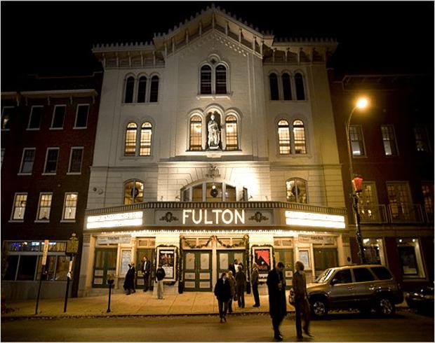 The Fulton Theatre. Photo Credit: Visit Lancaster.