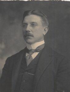 Historic photograph of Lancaster architect C. Emlen Urban.