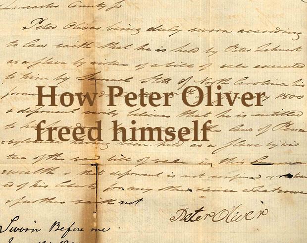 Peter Oliver_title image